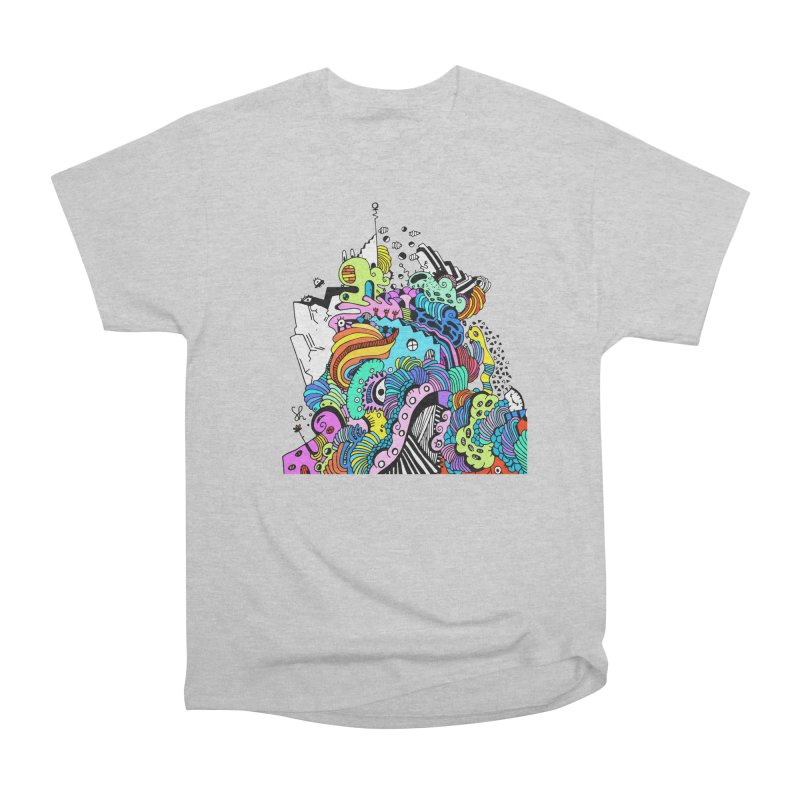 Candy Glacier Men's Heavyweight T-Shirt by Shelby Works