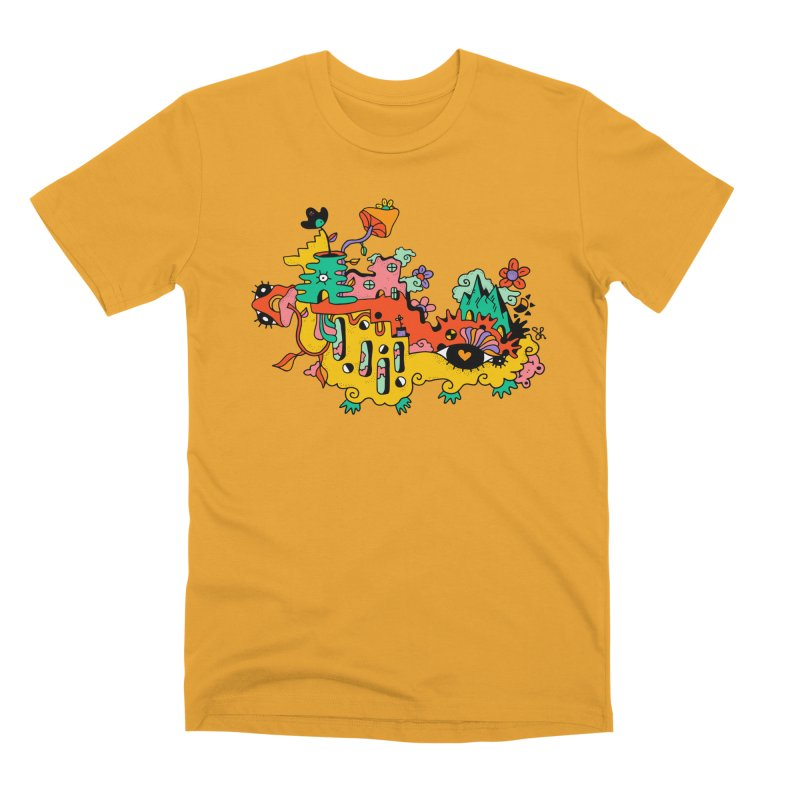 Happy Hotel Men's Premium T-Shirt by Shelby Works
