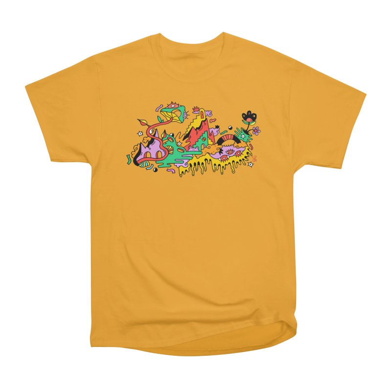 Eyeland Men's Heavyweight T-Shirt by Shelby Works