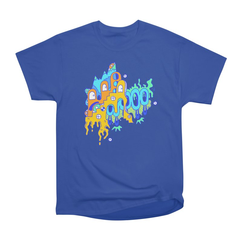 Blue Mountain Men's Heavyweight T-Shirt by Shelby Works