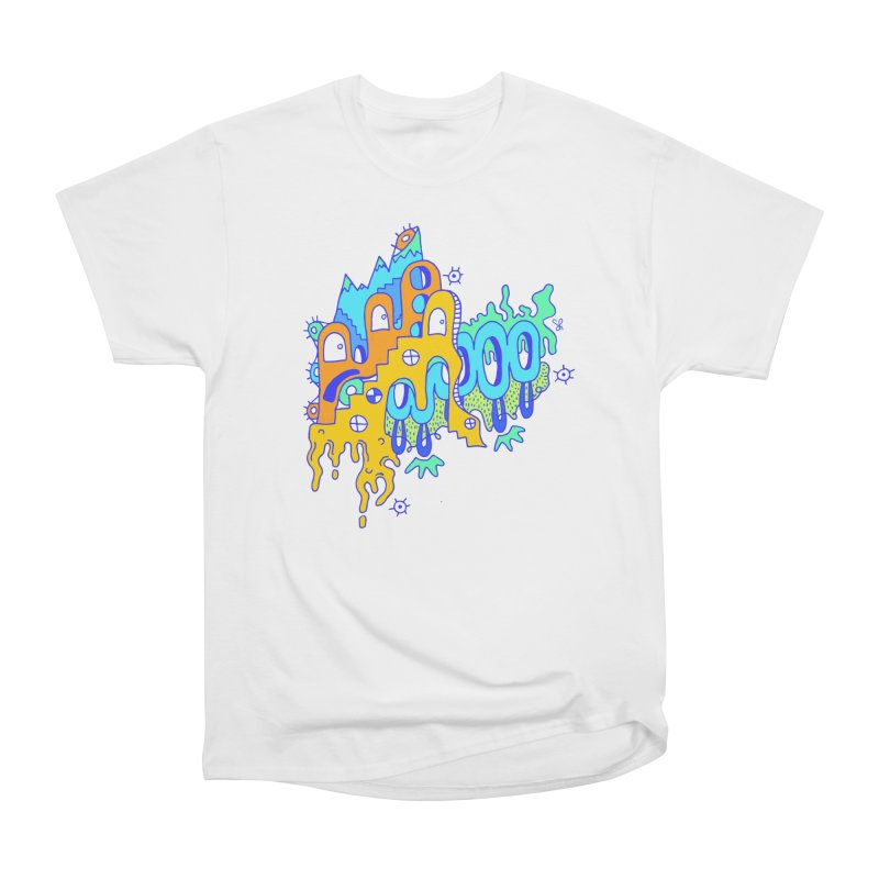 Blue Mountain Women's Heavyweight Unisex T-Shirt by Shelby Works