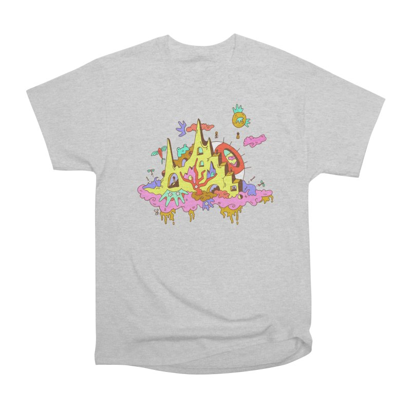 Dream Tree Men's Heavyweight T-Shirt by Shelby Works