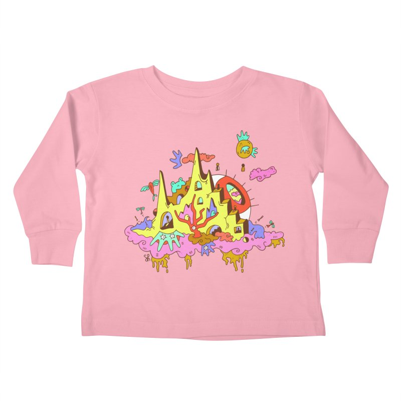 Dream Tree Kids Toddler Longsleeve T-Shirt by Shelby Works