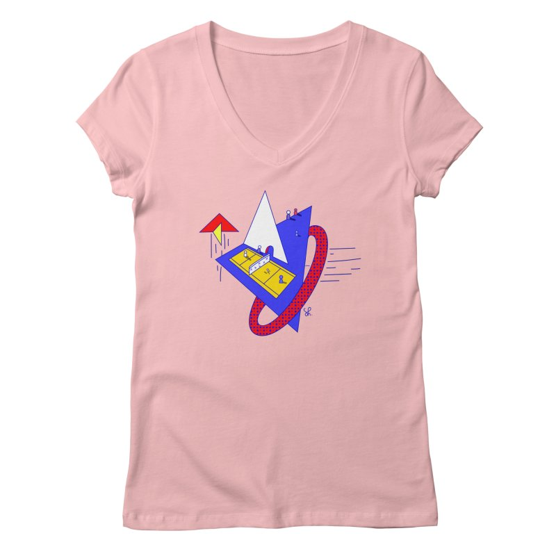 Flight Women's Regular V-Neck by Shelby Works