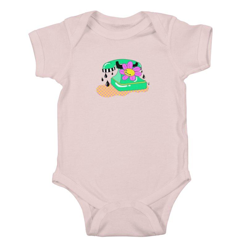 Flora Fone Kids Baby Bodysuit by Shelby Works