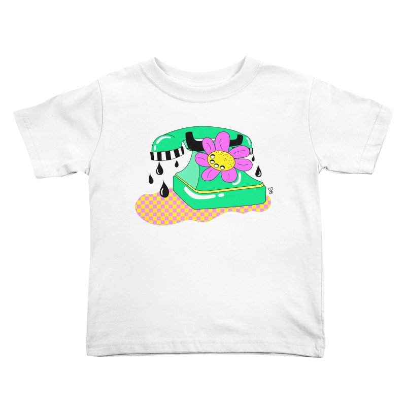 Flora Fone Kids Toddler T-Shirt by Shelby Works