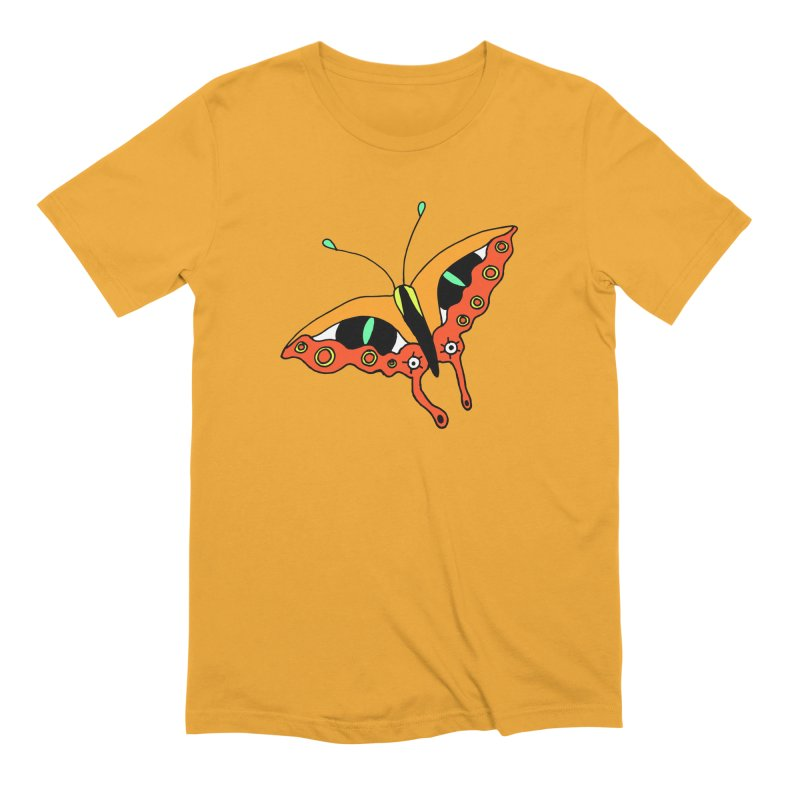 Butterfleye Men's Extra Soft T-Shirt by Shelby Works