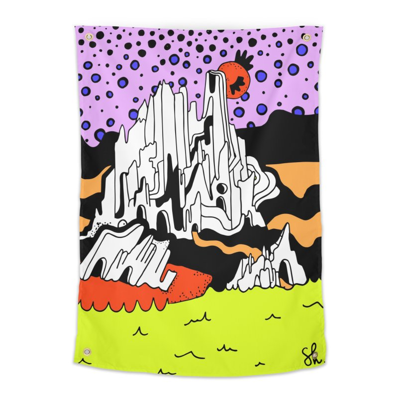 Utah at Night Home Tapestry by Shelby Works