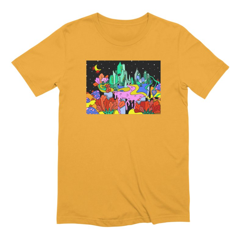 Poppy Trip Men's Extra Soft T-Shirt by Shelby Works