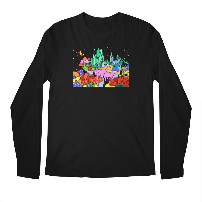 Poppy Trip Men's Longsleeve T-Shirt by Shelby Works