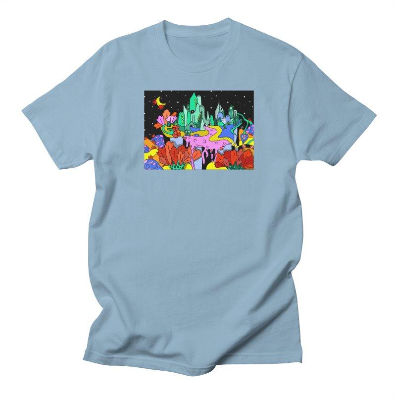 Poppy Trip Men's T-Shirt by Shelby Works