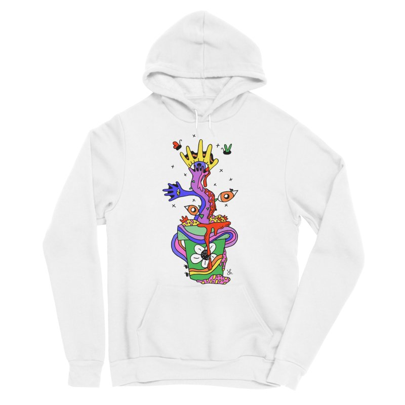 Eye Catching Women's Sponge Fleece Pullover Hoody by Shelby Works
