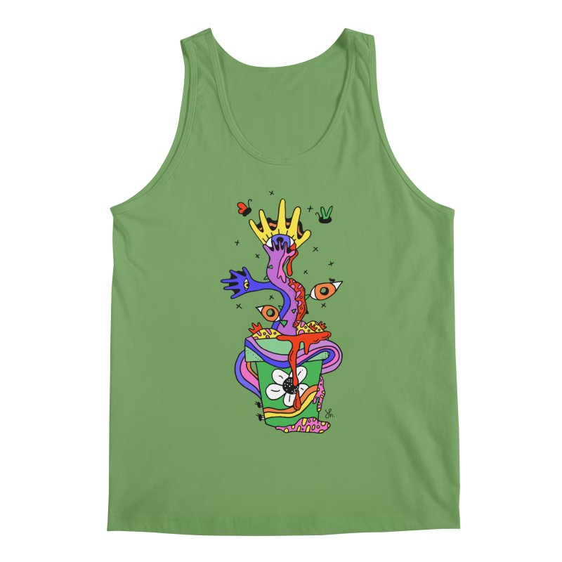 Eye Catching Men's Tank by Shelby Works