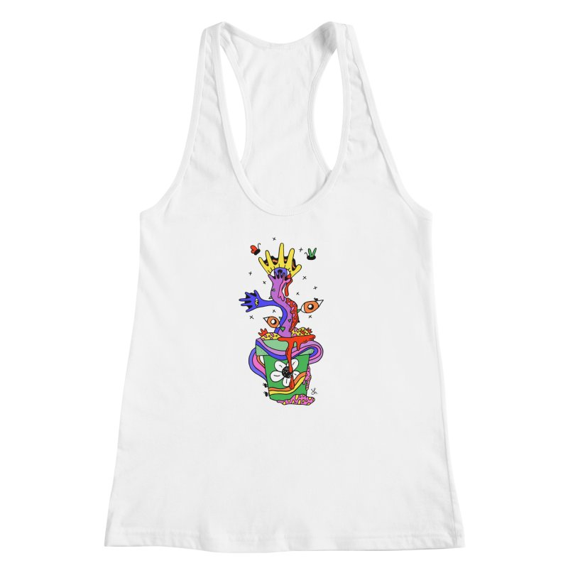 Eye Catching Women's Racerback Tank by Shelby Works