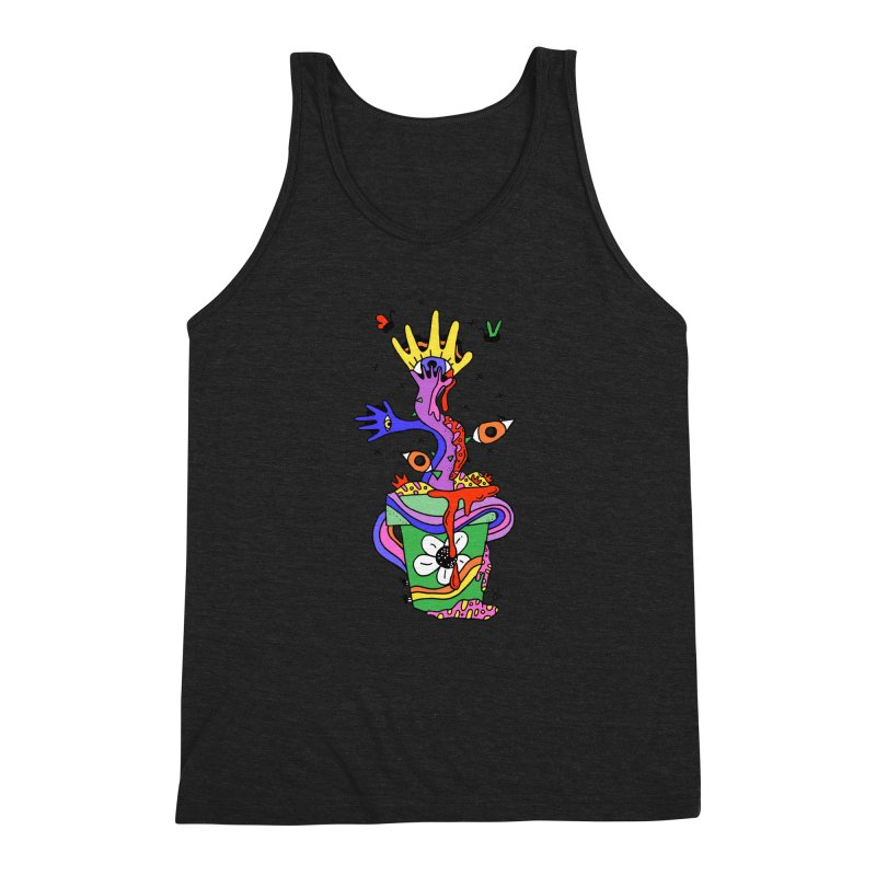 Eye Catching Men's Triblend Tank by Shelby Works