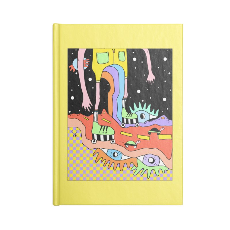 Skater Road Accessories Blank Journal Notebook by Shelby Works