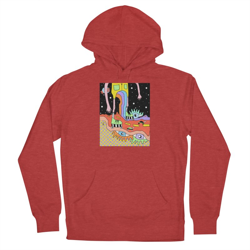 Skater Road Women's French Terry Pullover Hoody by Shelby Works
