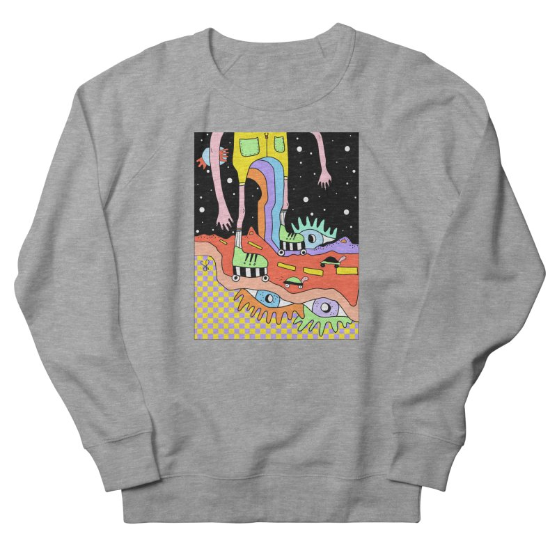 Skater Road Women's French Terry Sweatshirt by Shelby Works