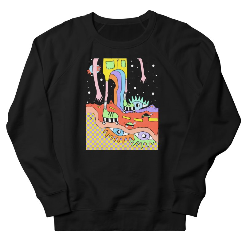Skater Road Men's French Terry Sweatshirt by Shelby Works