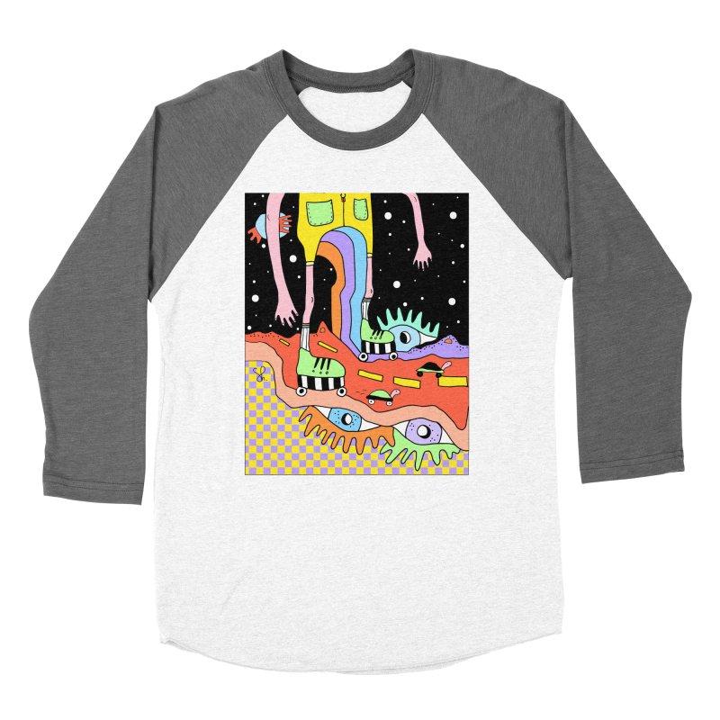 Skater Road Women's Baseball Triblend Longsleeve T-Shirt by Shelby Works