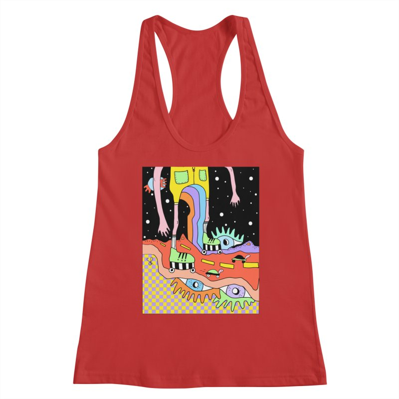 Skater Road Women's Racerback Tank by Shelby Works