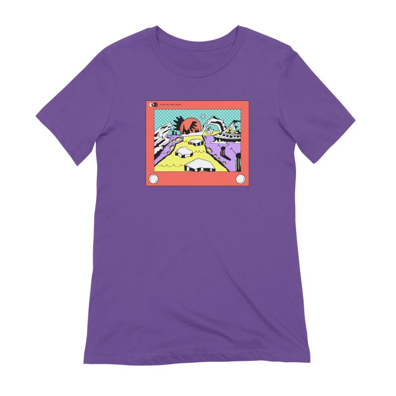 Etch Escape Women's Extra Soft T-Shirt by Shelby Works