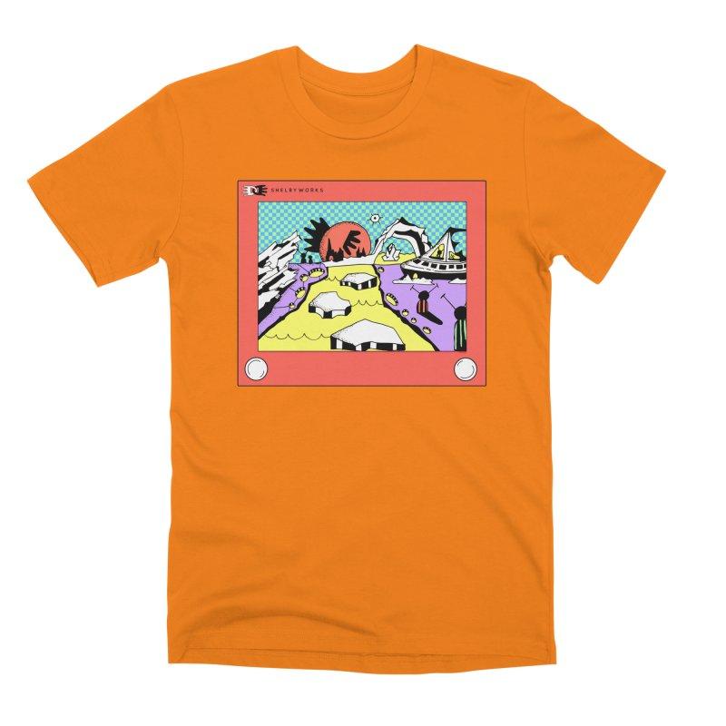 Etch Escape Men's Premium T-Shirt by Shelby Works