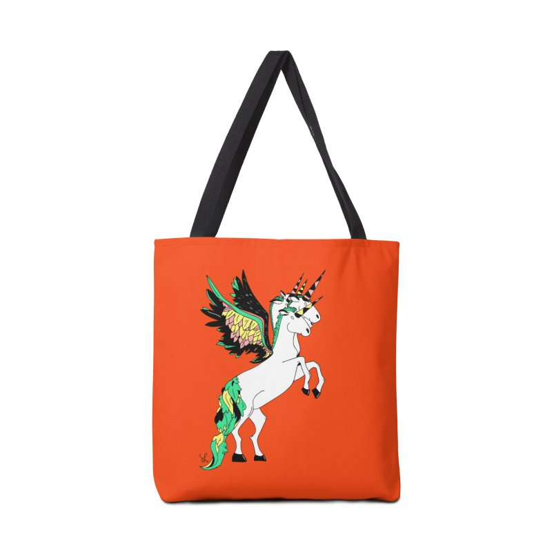 The Four Headed Unicorn Accessories Tote Bag Bag by Shelby Works