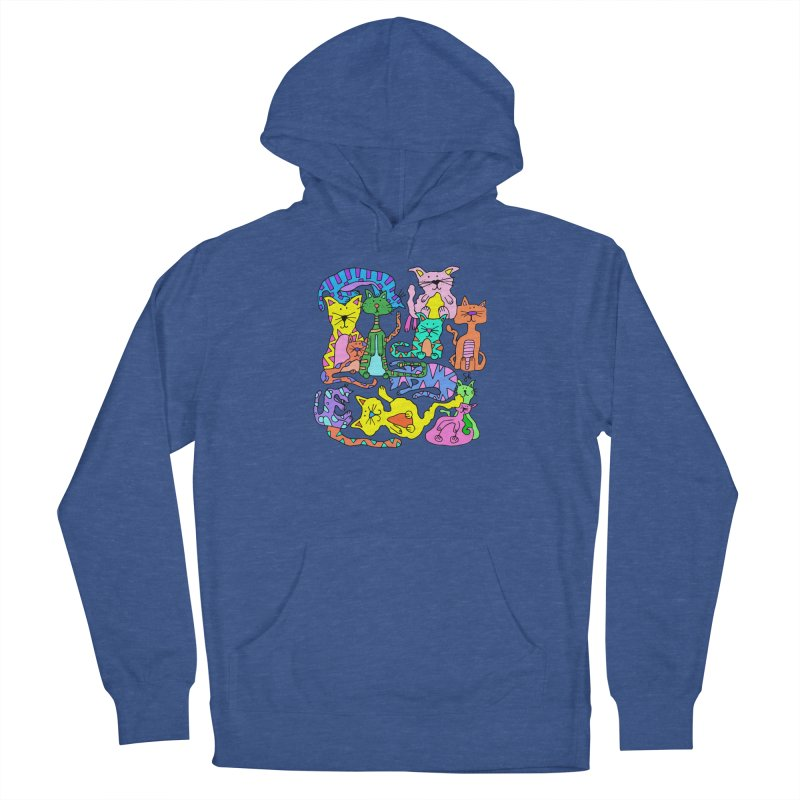 Purrty Cats Women's Pullover Hoody by Shelby Works
