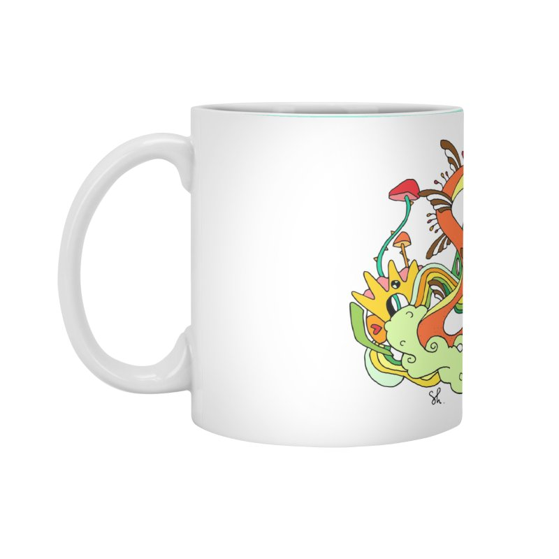 Garden Snakes Accessories Standard Mug by Shelby Works