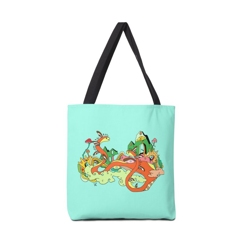 Garden Snakes Accessories Tote Bag Bag by Shelby Works