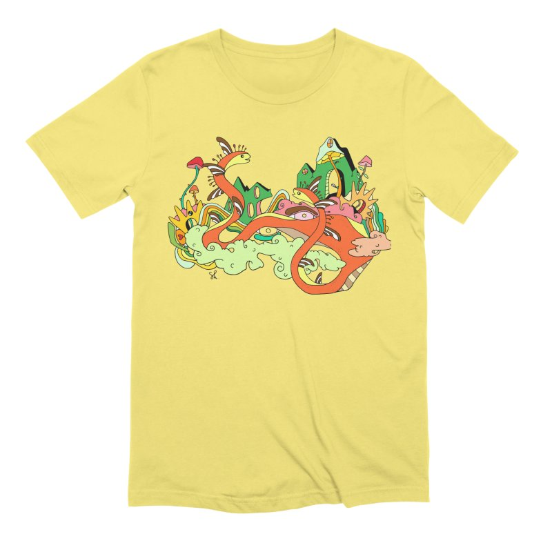 Garden Snakes Men's T-Shirt by Shelby Works