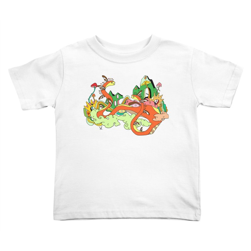 Garden Snakes Kids Toddler T-Shirt by Shelby Works