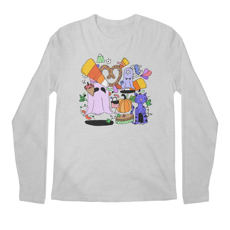 Candy Collection Bag Men's Regular Longsleeve T-Shirt by Shelby Works