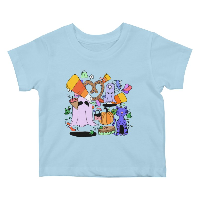 Candy Collection Bag Kids Baby T-Shirt by Shelby Works