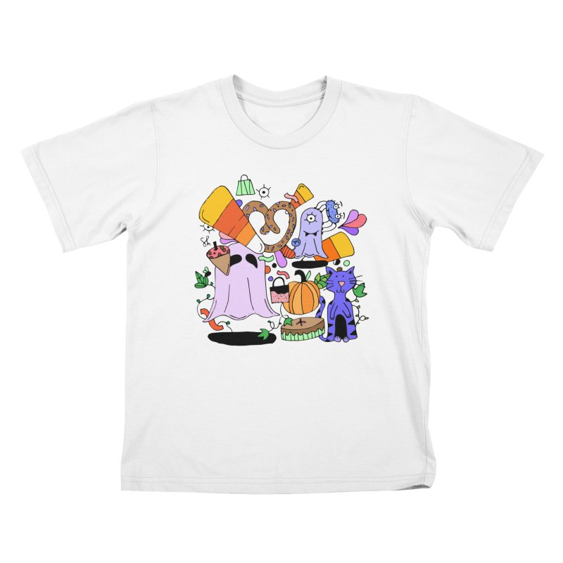 Candy Collection Bag Kids T-Shirt by Shelby Works