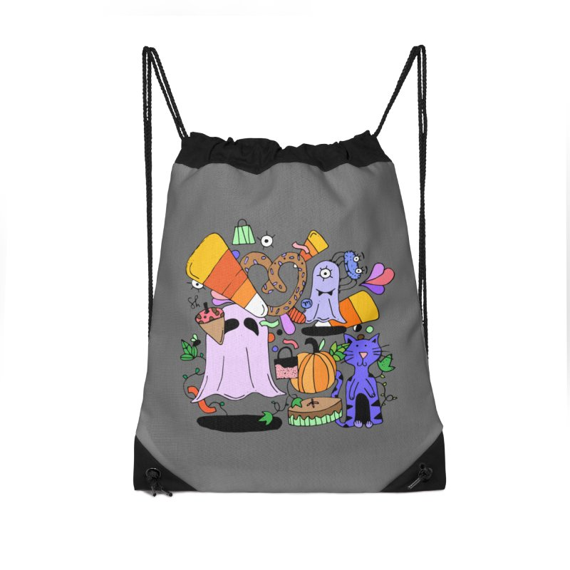 Candy Collection Bag Accessories Drawstring Bag Bag by Shelby Works