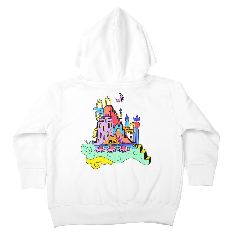 Village in the Sky Kids Toddler Zip-Up Hoody by Shelby Works