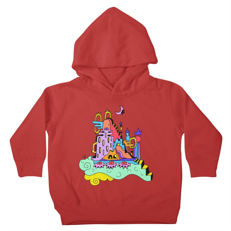 Village in the Sky Kids Toddler Pullover Hoody by Shelby Works