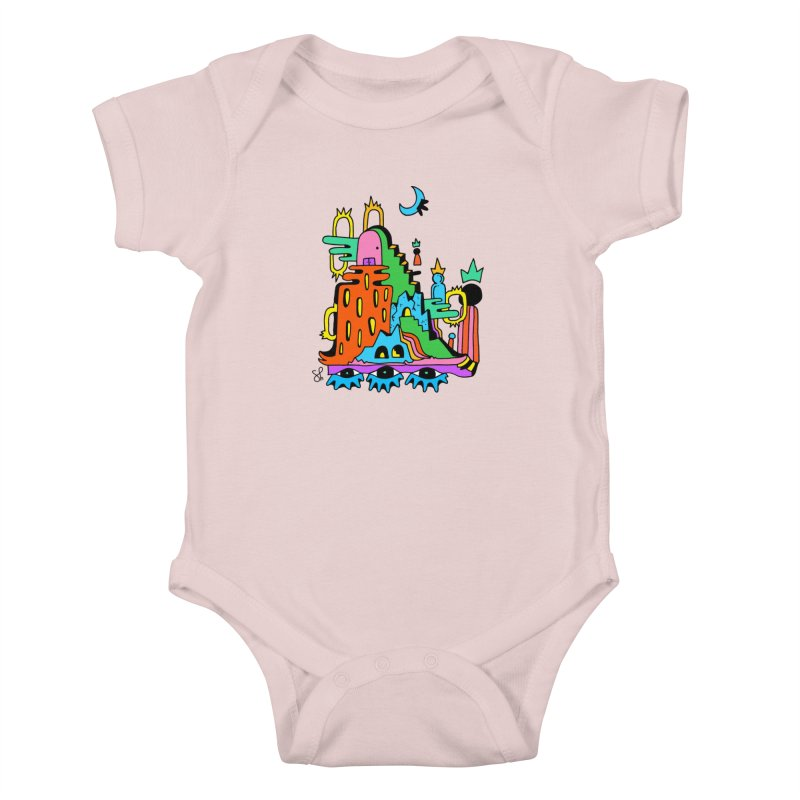 Lost Royals Kids Baby Bodysuit by Shelby Works