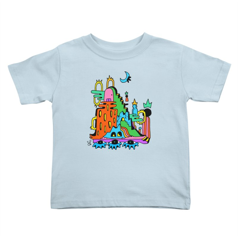 Lost Royals Kids Toddler T-Shirt by Shelby Works