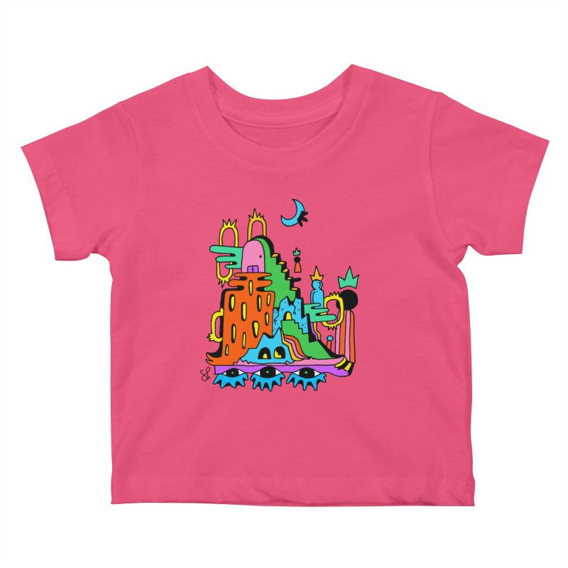 Lost Royals Kids Baby T-Shirt by Shelby Works