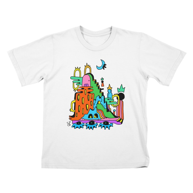 Lost Royals Kids T-Shirt by Shelby Works