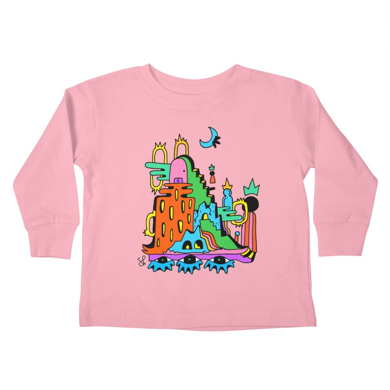 Lost Royals Kids Toddler Longsleeve T-Shirt by Shelby Works