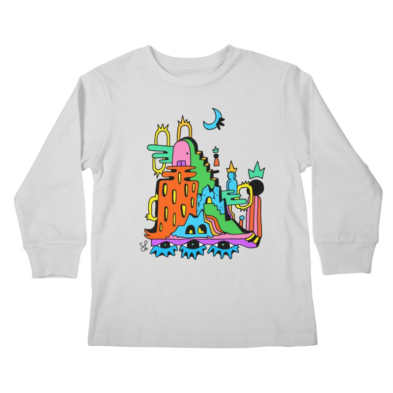 Lost Royals Kids Longsleeve T-Shirt by Shelby Works