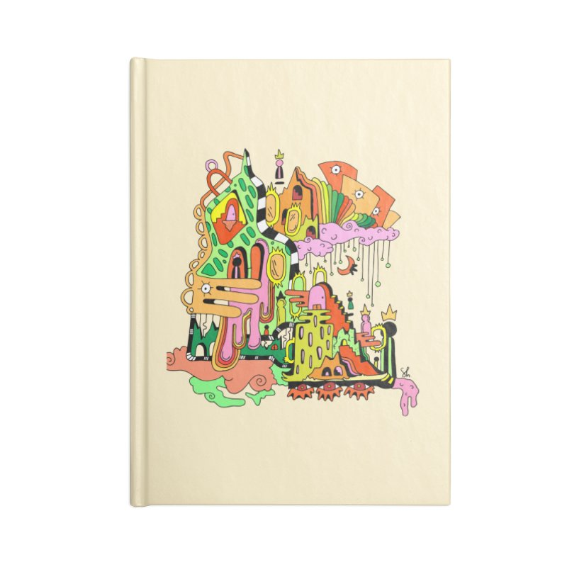 Jungle Gym Accessories Lined Journal Notebook by Shelby Works