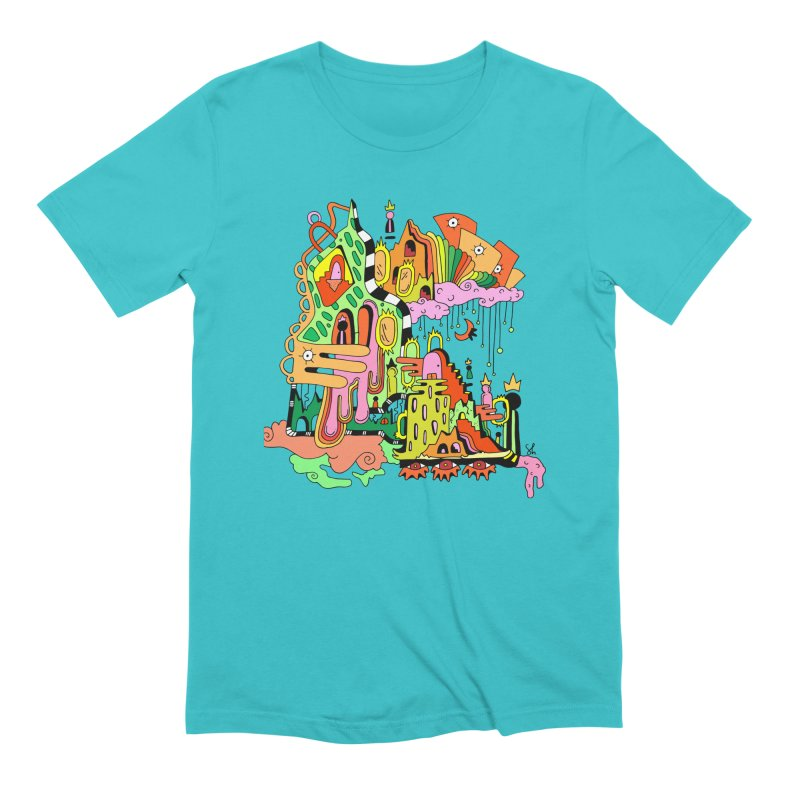 Jungle Gym Men's Extra Soft T-Shirt by Shelby Works