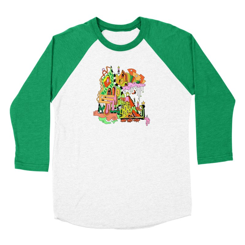 Jungle Gym Men's Longsleeve T-Shirt by Shelby Works