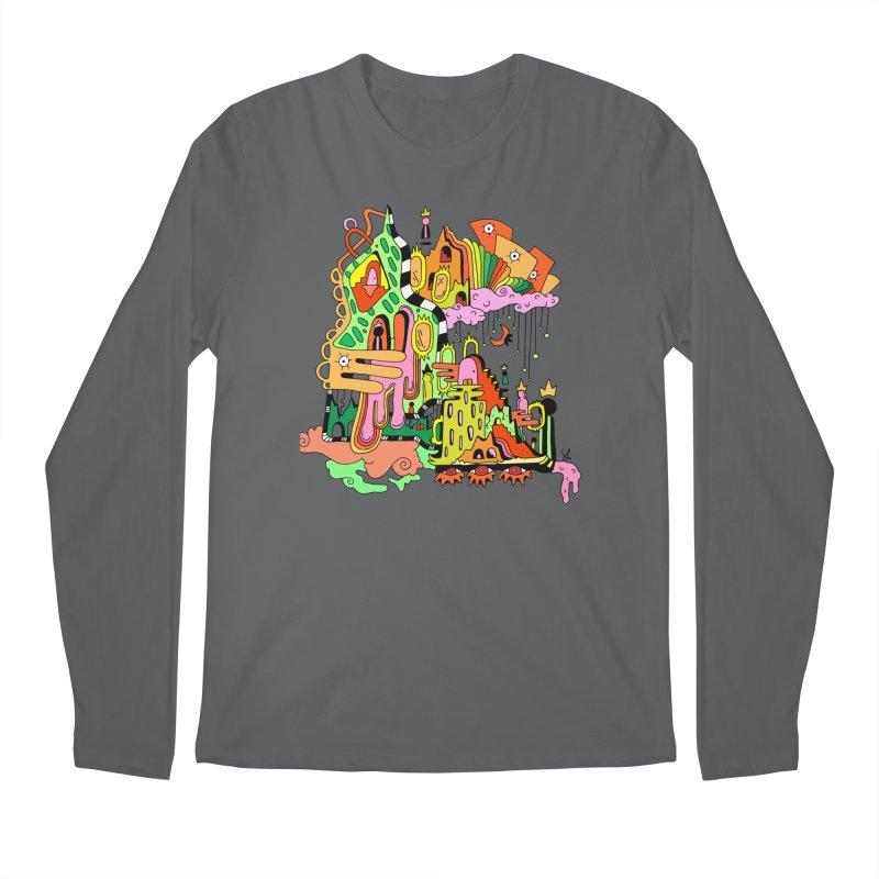 Jungle Gym Men's Regular Longsleeve T-Shirt by Shelby Works