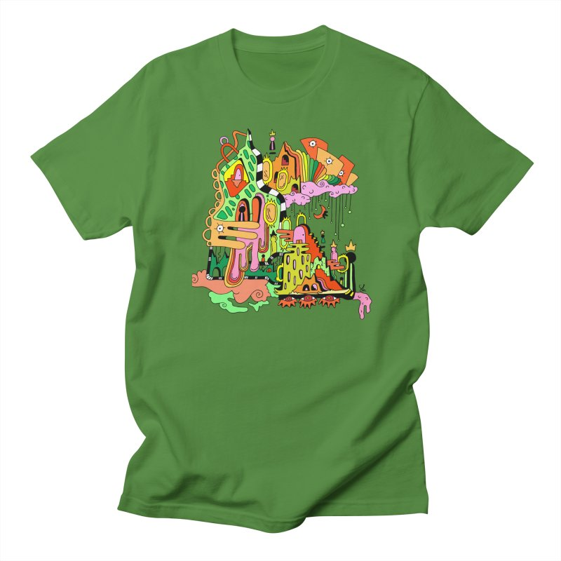 Jungle Gym Men's Regular T-Shirt by Shelby Works
